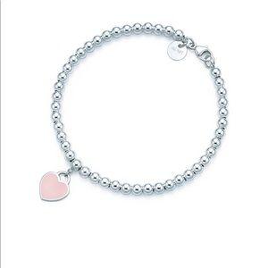 Tiffany Bead Pink Bracelet